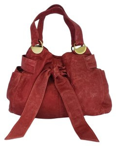Kooba Oxblood Leather Shoulder Bag