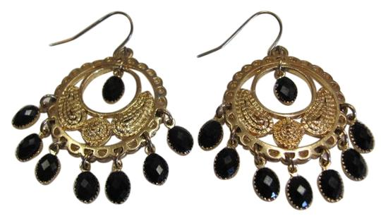 Preload https://img-static.tradesy.com/item/721022/gold-black-circle-earrings-0-0-540-540.jpg