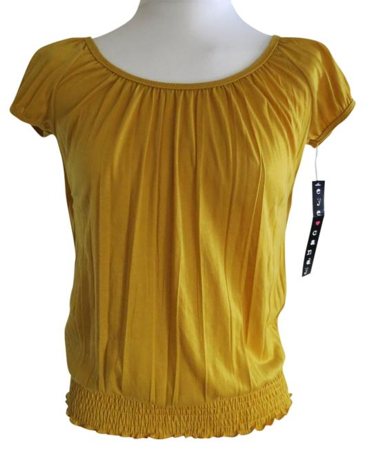 Preload https://img-static.tradesy.com/item/721122/gold-new-with-tags-small-eye-candy-blouse-size-6-s-0-0-650-650.jpg