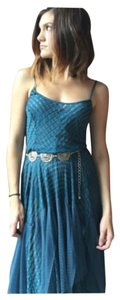 Blue/teal Maxi Dress by Free People