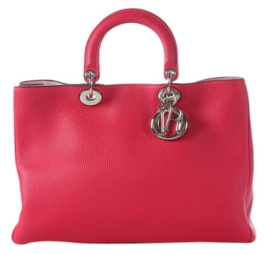 Preload https://img-static.tradesy.com/item/7212253/dior-large-diorissimo-hot-pink-leather-satchel-0-1-540-540.jpg