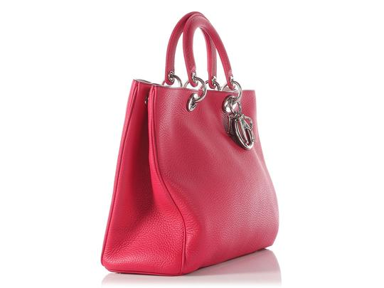 Dior Diorissimo Cd.j0814.19 Charm Satchel in Pink Image 5