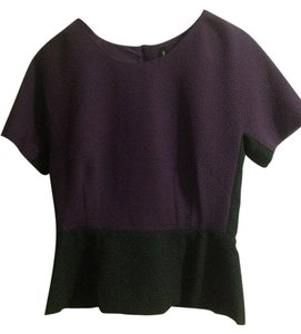 W118 by Walter Baker Top Royal purple/black