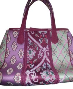 Talbots Tote in Red multi