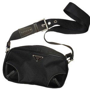 Prada Modern Chic Buckle Structured Shoulder Bag