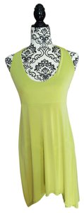 Luciana short dress Lime Green Halter High-low Lime Cover Up on Tradesy