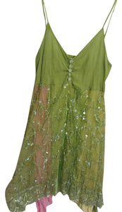 Sincerely Cool And Airy! Pair With Anything! Unique Grab This Before Someone Else! Top green