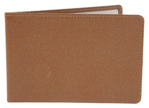 Louis Vuitton Brown Taiga Leather Card Holder LVTL54
