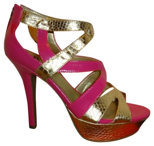 Guess Pink Multi Pumps