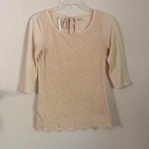 LC Lauren Conrad T Shirt Light peach