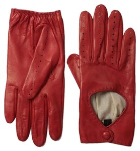 Portolano Portolano ~ Red ~ Silk-Lined Gloves ~ Size Medium ~ NWT