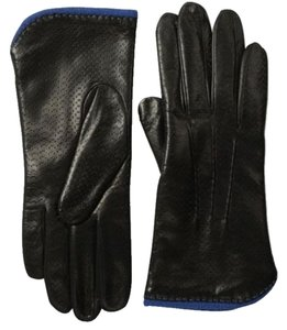 Portolano Portolano ~ Leather Gloves W/Contrast Lining ~ Size 7 ~ NWT ~ Paid $98