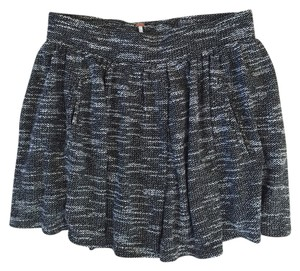 Free People Mini Skirt Black/White