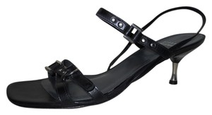 Stuart Weitzman Leather Studded black Sandals