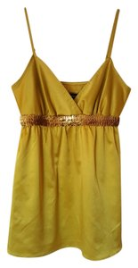Express Top mustard yellow
