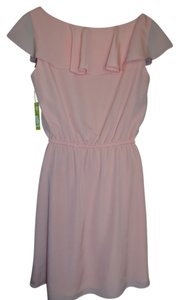 Gianni Bini short dress Pink Blush Small on Tradesy