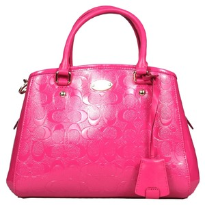 Coach Margot Satchel in Pink Ruby
