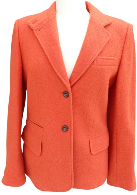 Chaus Orange Blazer