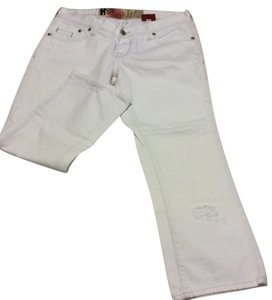 Hollister Capri/Cropped Denim-Light Wash