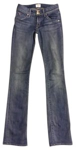 Hudson Boot Cut Low Rise Premium Straight Leg Jeans-Light Wash