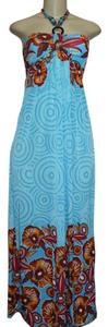 SKY - LIGHT BLUE Maxi Dress by Victoria