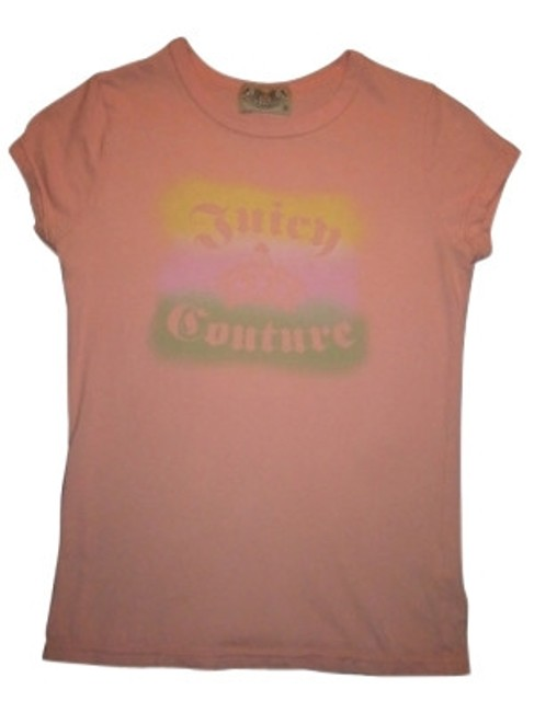 Preload https://item1.tradesy.com/images/juicy-couture-orange-tee-shirt-size-8-m-7220-0-0.jpg?width=400&height=650