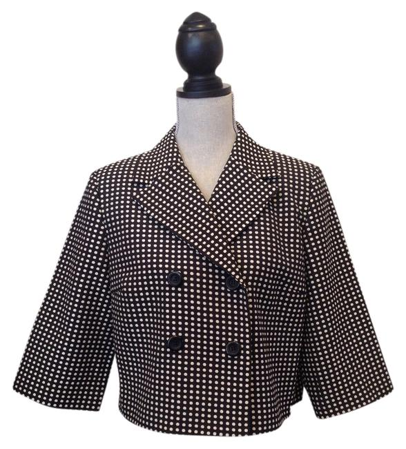 Item - Black/White Black/White Boxy Jacket Size 8 (M)