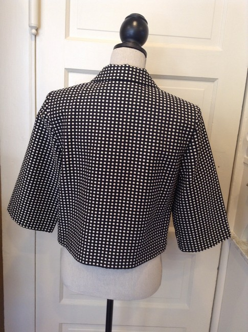 Kenar Chic Fashionable Black/White Jacket
