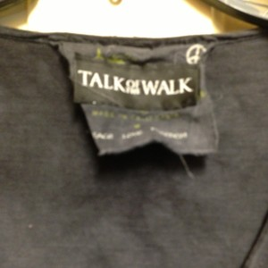 Talk of the Walk Top Charcoal