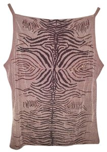 Other Top Taupe Brown with Pattern