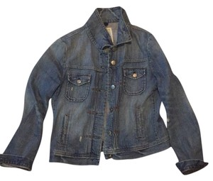 J.Crew Denim Womens Jean Jacket