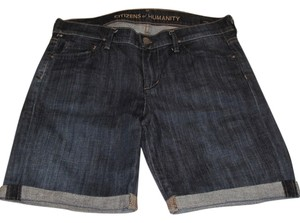 Citizens of Humanity Denim Shorts-Dark Rinse
