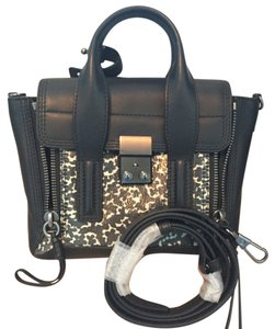 3.1 Phillip Lim Satchel in Black and Cream