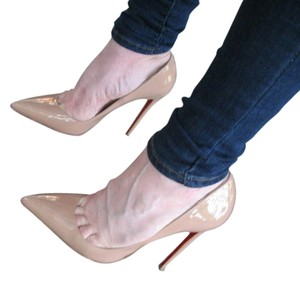 Christian Louboutin So Kate Patent 120mm Stiletto Heels So Kate Size 40.5 nude Pumps