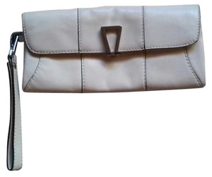 Calvin Klein Leather Purse EGGSHELL Clutch