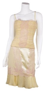 Dolce&Gabbana short dress Cream on Tradesy
