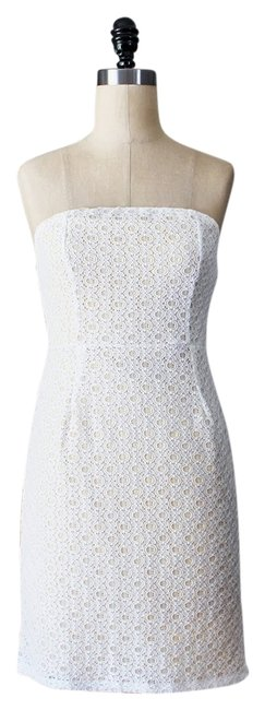 Preload https://img-static.tradesy.com/item/7223881/white-lace-with-cream-satin-lining-charlotte-strapless-mini-cocktail-dress-size-0-xs-0-1-650-650.jpg