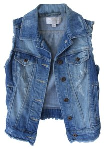 Mango Distressed Vest
