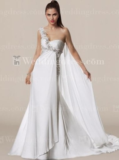 Preload https://img-static.tradesy.com/item/72243/white-chiffon-bc587-wedding-dress-size-4-s-0-0-540-540.jpg
