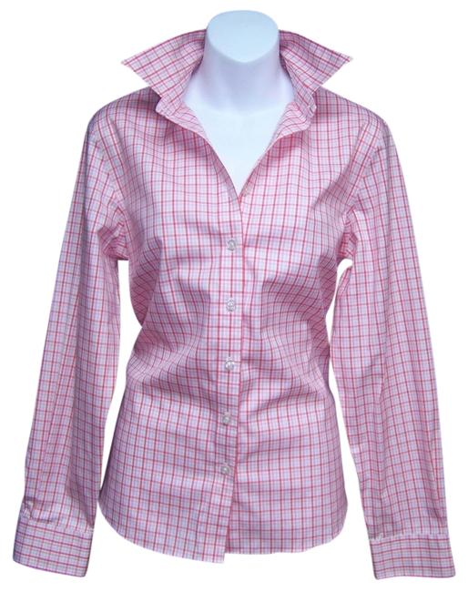 82bad83f Lands' End Pink Pinpoint Oxford Button Down Shirt - 81% Off Retail good