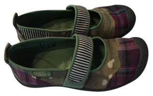 Keen Comfort Shoe Flat Low Heel Green Flats