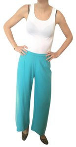 Sonia Rykiel Sweater Paris Wide Leg Pants Turquoise