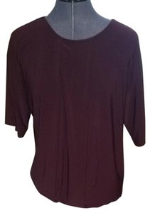 Banana Republic Top Burgundy