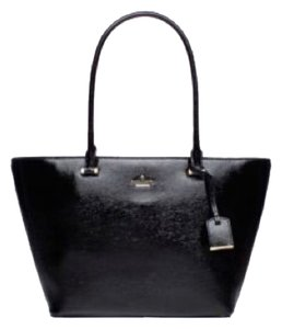 Kate Spade Small Harmony Tote in Black Patent