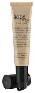 Other Philosophy Hope In a Jar A To Z Complexion Perfecting BB Cream NEW 1oz tan to deep