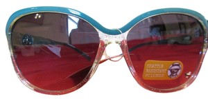 Panama Jack 100% UVA + UVB Protection Panama Jack Sunglasses Teal & Clear