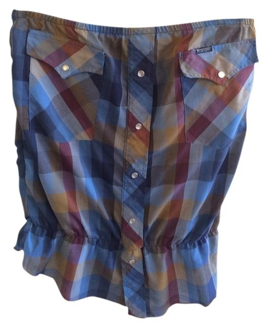 taxi CDC Top Flannel