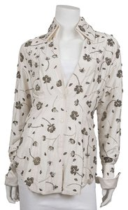 Dolce&Gabbana Button Down Shirt Cream