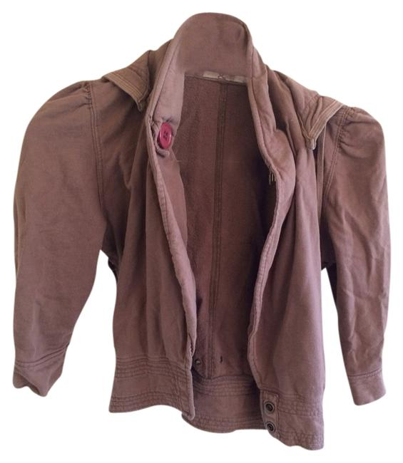 Mike& Chris Brown/ Burgundy Buttons Jacket