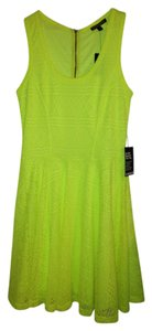 Express short dress Electric yellow on Tradesy